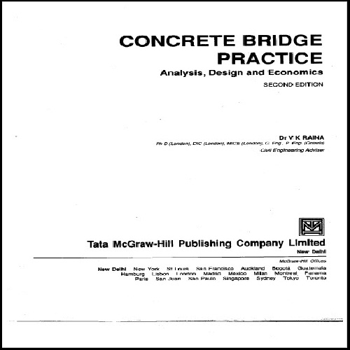 کتاب لاتین Concrete Bridge Practice (پل بتنی)