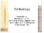 708014x150 - پاورپوینت لاتین Tall Buildings